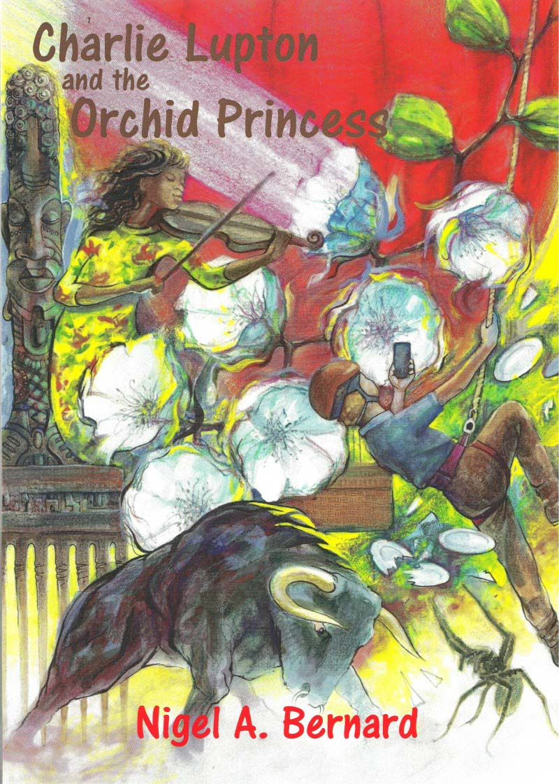 Charlie Lupton and the Orchid Princess